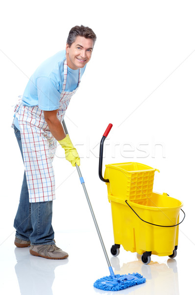 Cleaner. Stock photo © Kurhan