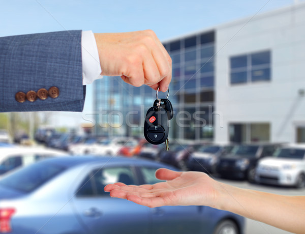 Car keys. Stock photo © Kurhan