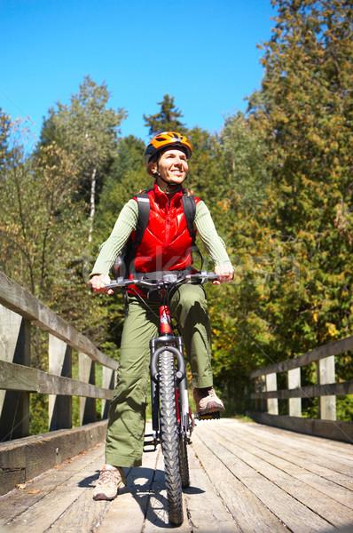 cycling Stock photo © Kurhan