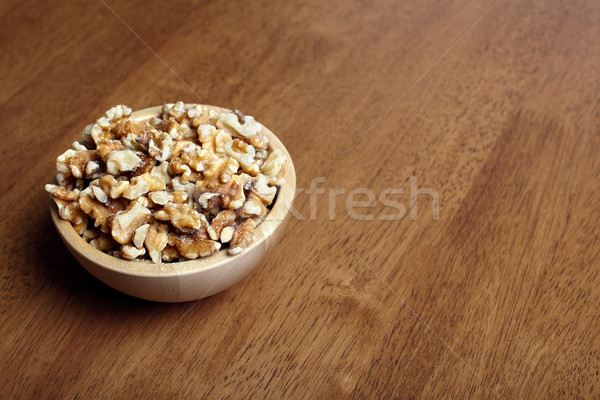 Organic walnuts. Stock photo © Kurhan