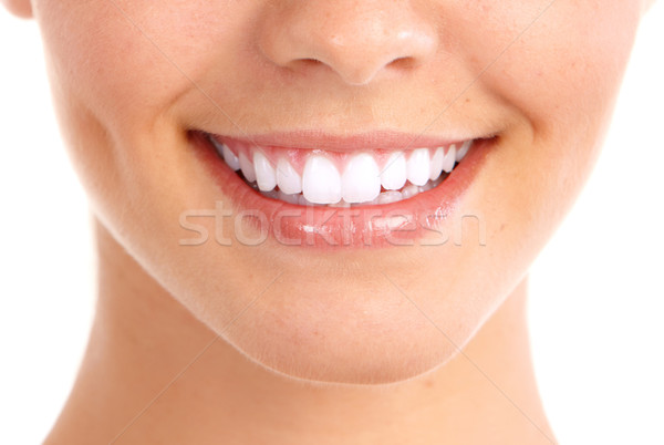 Stock photo: Smile and healthy teeth.