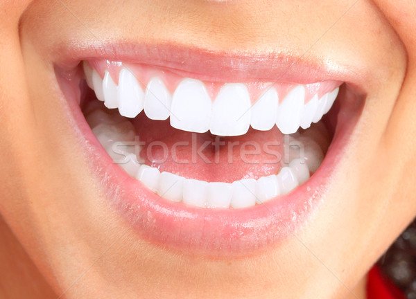 Happy smiling woman. Stock photo © Kurhan