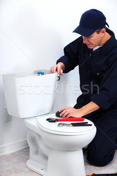Professional plumber. Stock photo © Kurhan