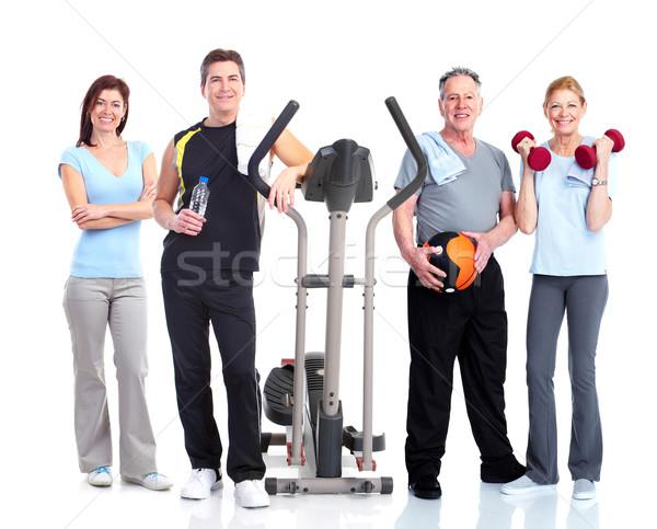 Healthy people group. Stock photo © Kurhan