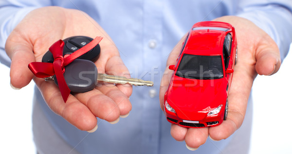 Stock photo: Car keys.