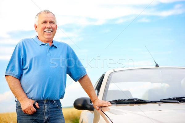 Elderly man Stock photo © Kurhan