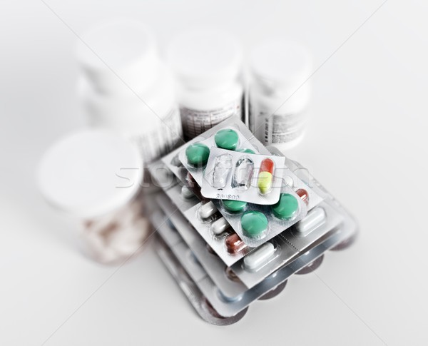 Medical pills. Stock photo © Kurhan