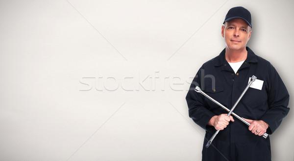 Car repair service worker. Stock photo © Kurhan