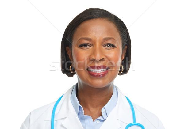 African-American doctor woman. Stock photo © Kurhan