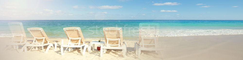 Tropical beach sea Stock photo © Kurhan