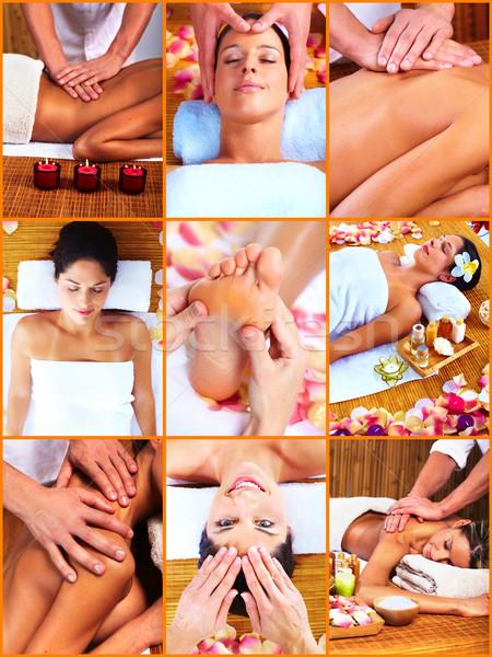 Spa massaga. Stock photo © Kurhan