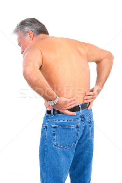 back pain Stock photo © Kurhan