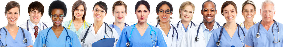 Group of medical doctors Stock photo © Kurhan