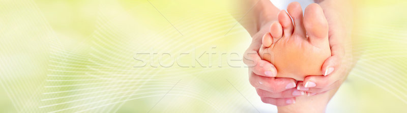 Feet massage Stock photo © Kurhan