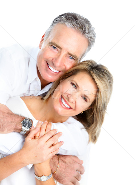 seniors couple Stock photo © Kurhan