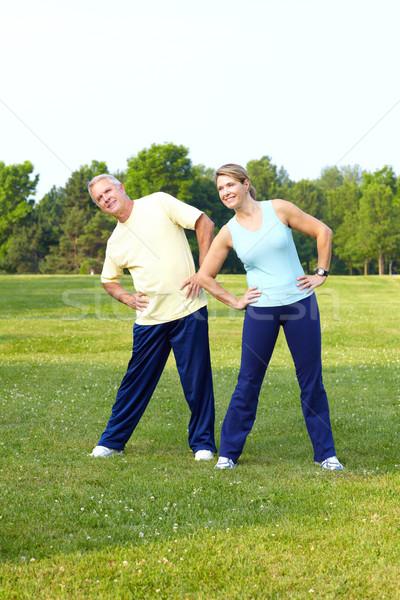 Senior sport. Stock photo © Kurhan