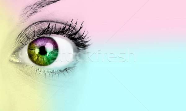 Woman eye. Stock photo © Kurhan