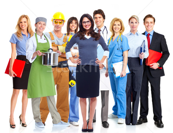 Group of workers. Stock photo © Kurhan