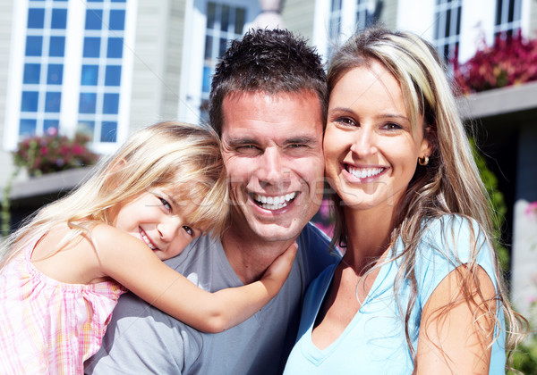 Happy family. Stock photo © Kurhan