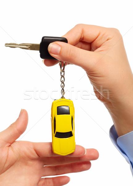 Araba anahtarları oto araba anahtar Stok fotoğraf © Kurhan