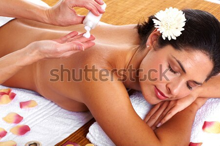 Stock photo: Spa salon