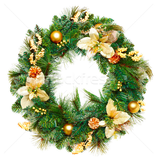 Christmas Garland. Stock photo © Kurhan