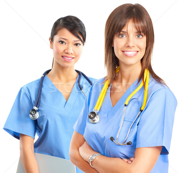Nurses Stock photo © Kurhan