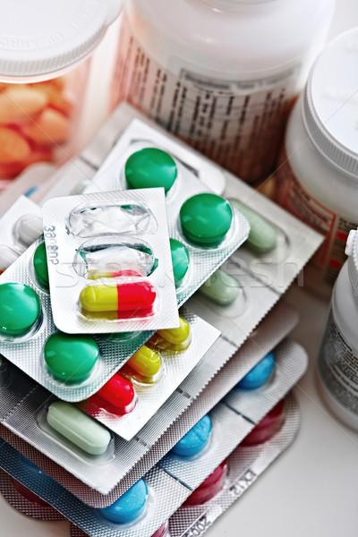 Medical pills. Stock photo © Kurhan