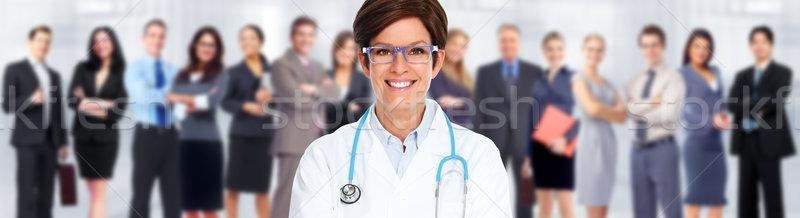 Group of medical doctors. Stock photo © Kurhan