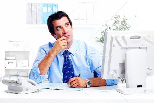 Businessman. Stock photo © Kurhan