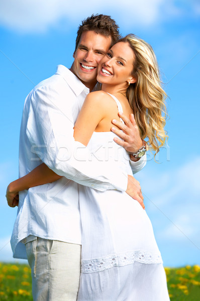 love couple Stock photo © Kurhan