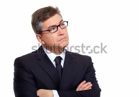 Businessman thinking solution. Stock photo © Kurhan
