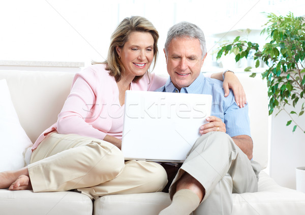 Senior couple Stock photo © Kurhan