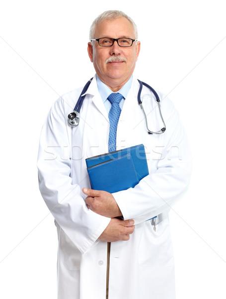 Doktor doktor portre yalıtılmış beyaz adam Stok fotoğraf © Kurhan