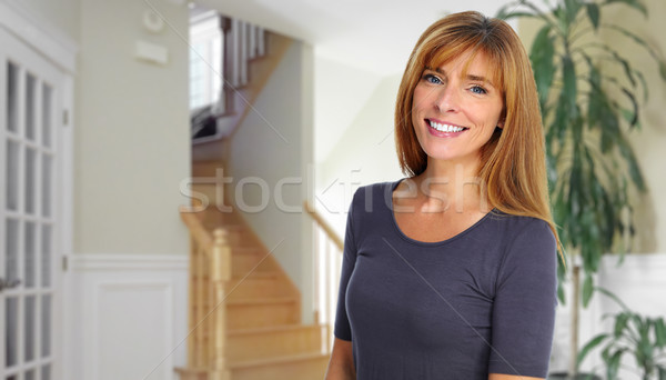 Beautiful woman. Stock photo © Kurhan