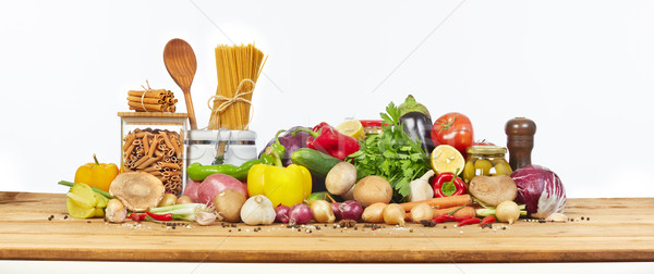 Organic vegetables Stock photo © Kurhan