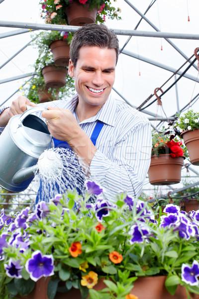 Gardener. Stock photo © Kurhan