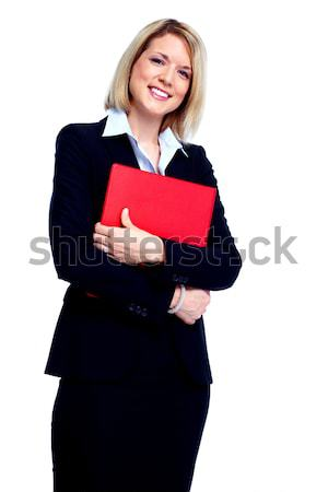 Young business woman. Stock photo © Kurhan