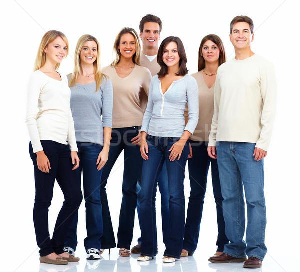 Group of friends. Stock photo © Kurhan