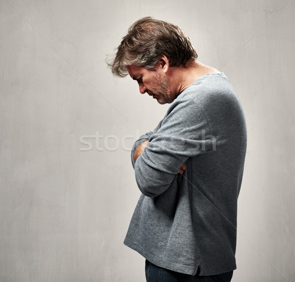 lonely rejected man Stock photo © Kurhan
