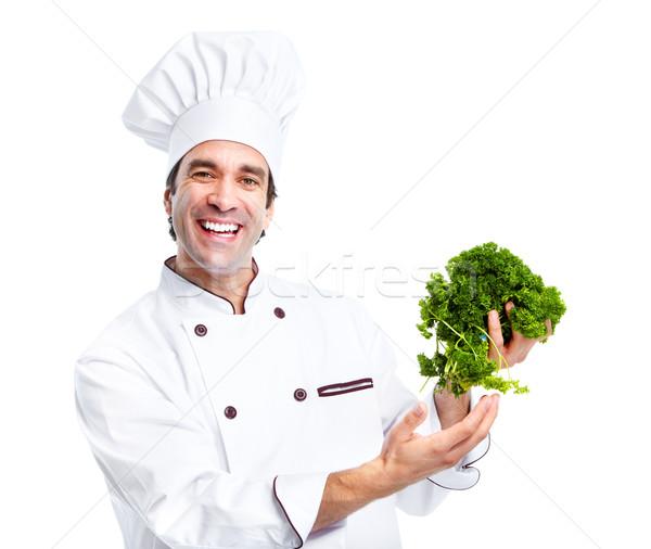 Chef. Stock photo © Kurhan