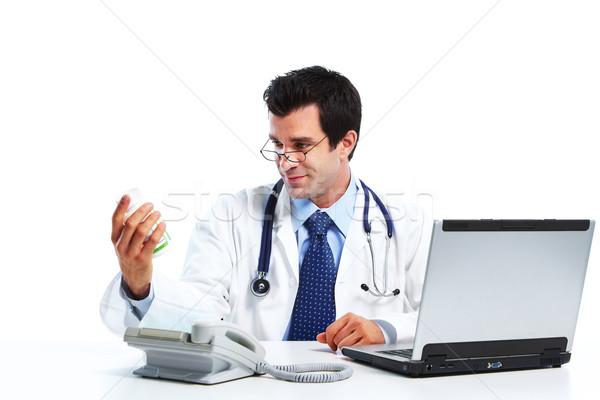 Pharmacist. Stock photo © Kurhan