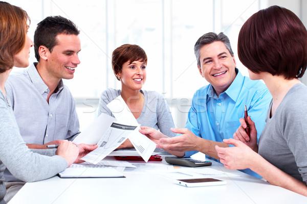 Group of business people. Stock photo © Kurhan