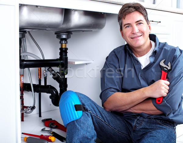 Professional plumber. Stock photo © Kurhan
