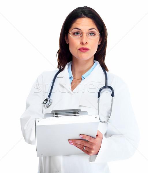 Stock photo: Doctor woman.