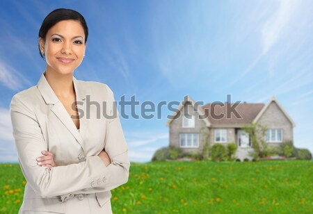 Real estate agent Stock photo © Kurhan