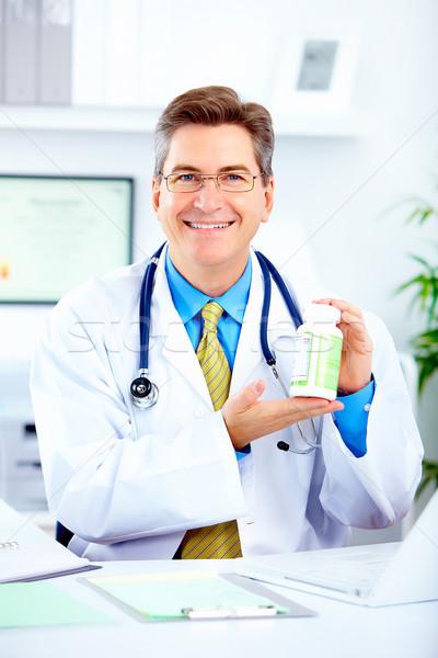 Medico medici ufficio business felice salute Foto d'archivio © Kurhan