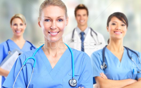 グループ 病院 医師 クリニック 女性 ストックフォト © Kurhan