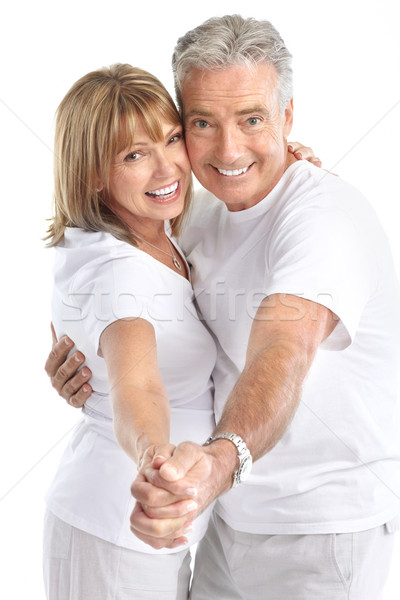 seniors couple Stock photo © Kurhan