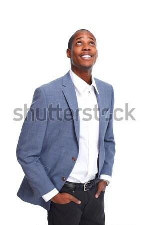 Positive thinking man. Stock photo © Kurhan